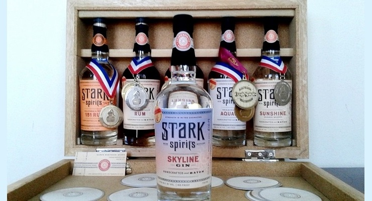 """Pasadena's Stark Spirits Distillery Announces Release of its First Commercial Gin, """"Skyline"""""""